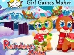 Santa's Reindeer Dress Up Salon 1.0 Screenshot