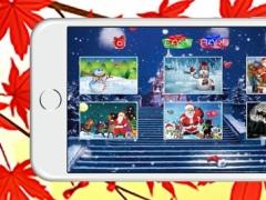 Santa Snowman and Christmas Jigsaw Games Kids Free 1.0.0 Screenshot