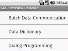 SAP ABAP Interview Reference 1.0.3 Screenshot
