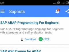 Sapnuts 1.2.5 Screenshot