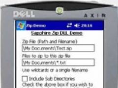 SapphireGZip 04.10 Screenshot