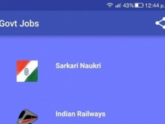 Sarkari Naukri Government Jobs 3.1 Screenshot