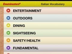 SAT 2 Italian & German Prep Flashcards Vocabulary Exambusters 3.1 Screenshot