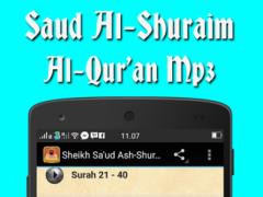 Saud Al-Shuraim Quran.Mp3 1.0 Screenshot