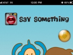 Say Something Camera 1.0 Screenshot