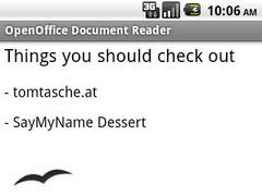 SayMyName / OpenOffice Donate 1.0 Screenshot