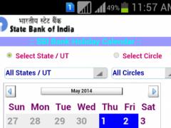 SBI Bank Holiday Calendar 1.4 Screenshot