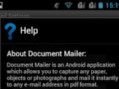 Scan Document Pro 17.1 Screenshot