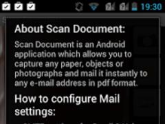 Scan Document 16.8 Screenshot