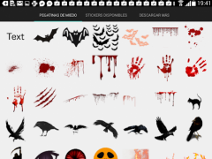 Scary & Horror photo Stickers 8.0 Screenshot