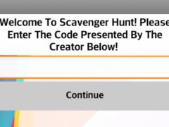 Scavenger Hunt Player 1.3 Screenshot