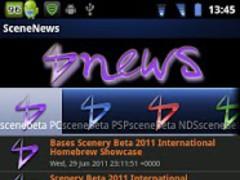 SceneNews 1.0 Screenshot