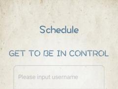 Schedule List 1.2.5 Screenshot