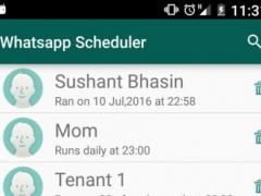 Scheduler for WhatsApp 2.9 Screenshot
