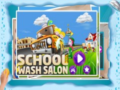 School Bus Wash Salon – Rusty & messy vehicle washing & cleaning game 1.0 Screenshot
