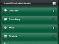School of Continuing Education 1.1.4 Screenshot