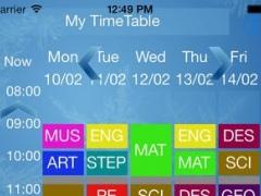 School Timetable 1.1 Screenshot