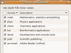 scibuntu - Ubuntu Linux for scientists  Screenshot