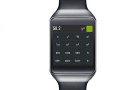 SciCalc: Wear calculator 1.1 Screenshot