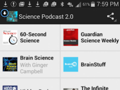 Science Podcast 2.0 1.0 Screenshot