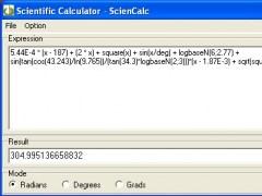 Scientific Calculator - ScienCalc 1.3.22 Screenshot