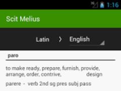 Scit Melius - Latin 1.0 Screenshot