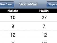 Score Pad 1.2 Screenshot