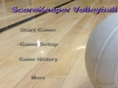 ScoreKeeper - Volleyball 1.1 Screenshot