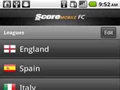 ScoreMobile FC 1.6.3 Screenshot