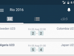 Scores for Rio 2016 Football 1.0 Screenshot