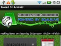 Scores! On Android 2.0 Screenshot
