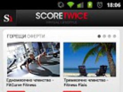 ScoreTwice 2.1 Screenshot