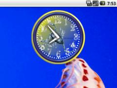 Scorpius Zodiac Analog Clock 1.0 Screenshot