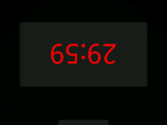 Scrabble Clock for Android 1.6 1.8 Screenshot