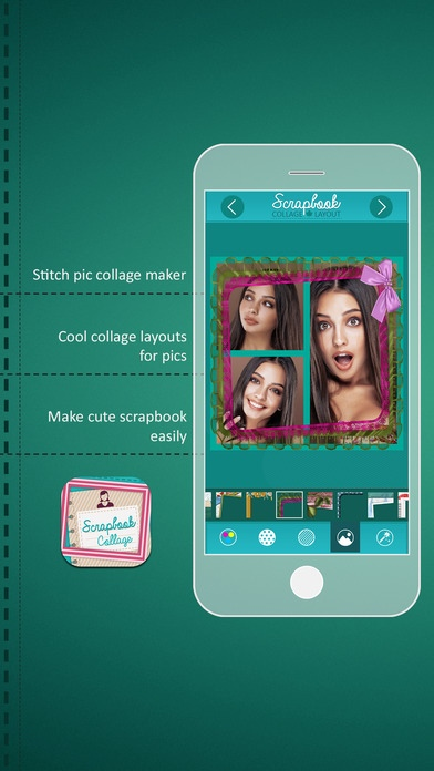Scrapbook Collage Layout Photo Grid Free Download