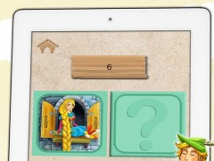 Scratch classic fairy tales – discover Cinderella, Snow White or Rapunzel in this free game for boys and girls 1.3 Screenshot