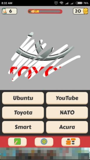 Scratch Logo Quiz