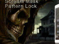 Scream Mask Pattern Lock 1.0 Screenshot