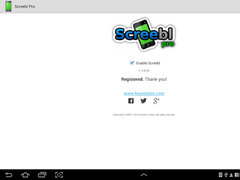 Screebl - Total Screen Control 3.0.50 Screenshot