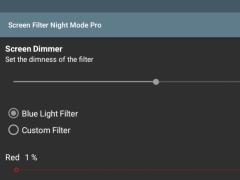 Screen Filter Night Mode Pro 2.01 Screenshot