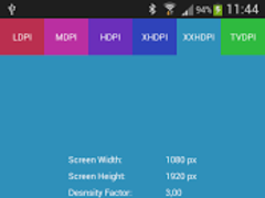 Screen Info 1.1 Screenshot