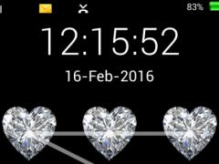 screen lock love code pattern 1.1.1 Screenshot