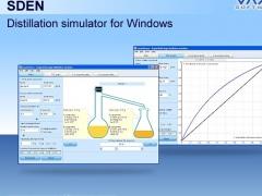 SDEN - Distillation simulator 1.7 Screenshot