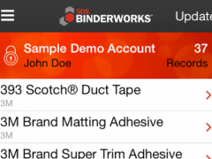 SDS BinderWorks Mobile 1.1.18 Screenshot