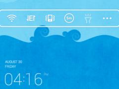 Sea Story dodol theme 1.1 Screenshot