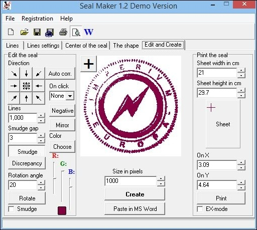 Seal Maker 1 2 Free Download
