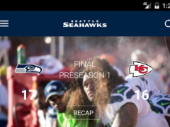 Seattle Seahawks Mobile 3.0.3 Screenshot