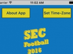 SEC College Football 2016 Live Scores and Schedules 1.0 Screenshot