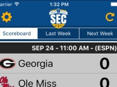 SEC Football Schedules & Scores 5.2.118 Screenshot