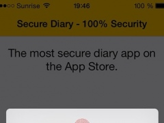 Secure Diary - 100% Security 1.0.1 Screenshot